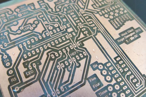 PCB Etching Process