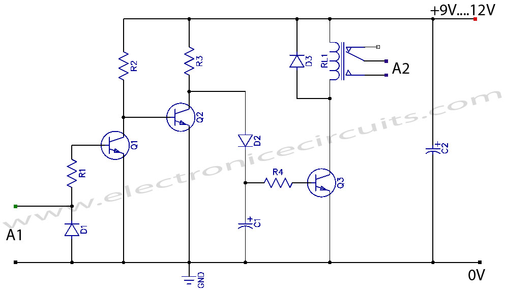 vcr video detector switch controller circuit allpcb com rh allpcb com Speaker Volume Control Wiring Diagram Samsung TV Wiring Diagram