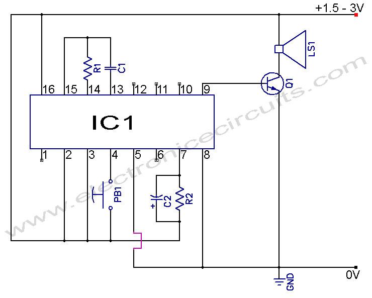 musical bell circuit diagram wire data schema u2022 rh kiymik co