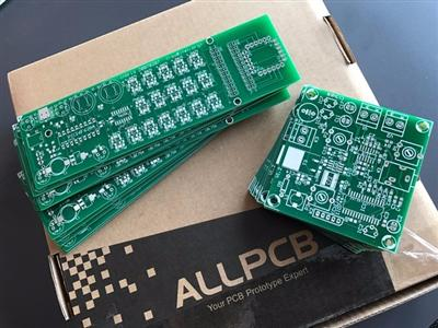This product is made by HQPCB,AllPCB continues to deliver high quality products ...