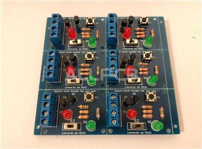 This product is made by HQPCB,I am really glad those PCBs, quality was good and ...