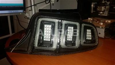 This product is made by Shunyijie Technology,Vehicle Rear Tail Lights - 8 double sided, PCB''s ...