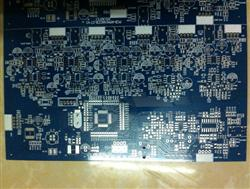 Layers Blue Solder Mask Board