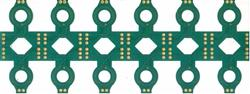 thin coil type printed circuit board