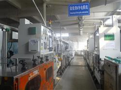 Desmear conductive film line