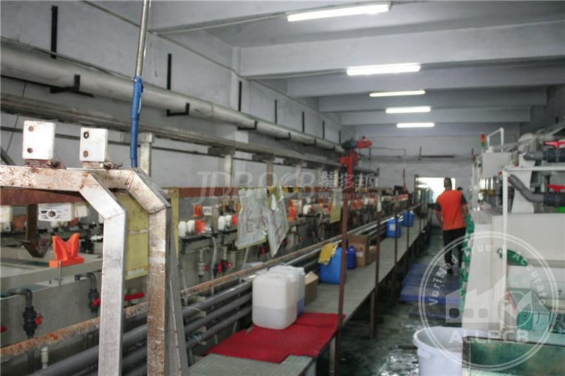Manual Copper Plating Line
