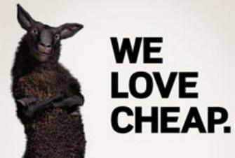 We love cheap