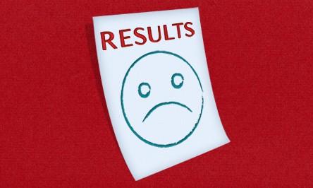 Substandard plating results