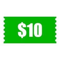 $10 Cash Coupon