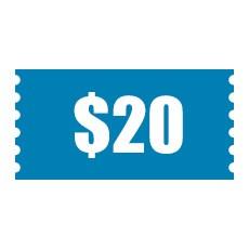 $20 Cash Coupon