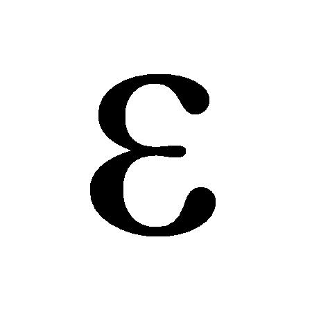 dielectric constant (symbol ε)