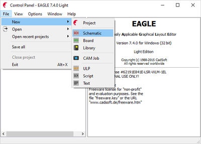 Create A PCB Via Eagle EDA | ALLPCB