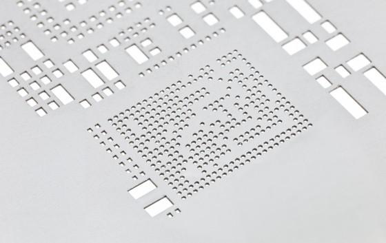 smt stencil for solder paste application