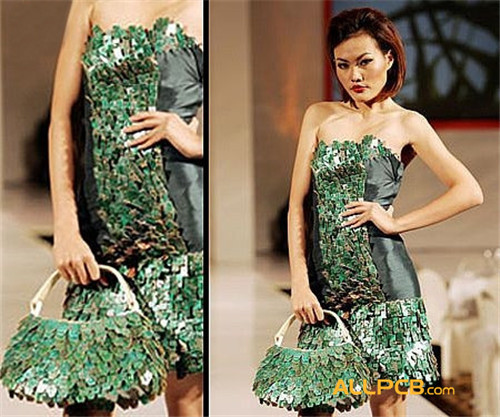Circuit Board Fashion Show