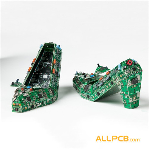 Circuit Board High-heeled Shoes