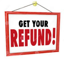 Refund in advances