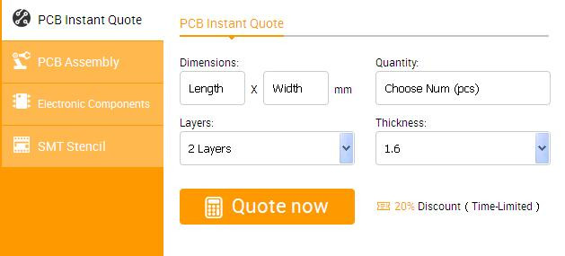 PCB Manufacturing Online Quote