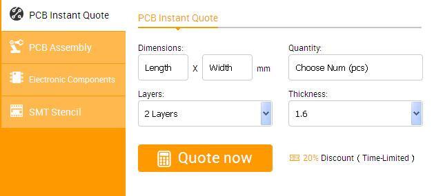 PCB Manufacturing Quote