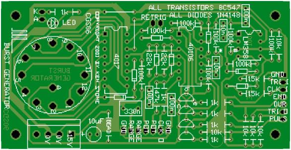 1 layer PCB service