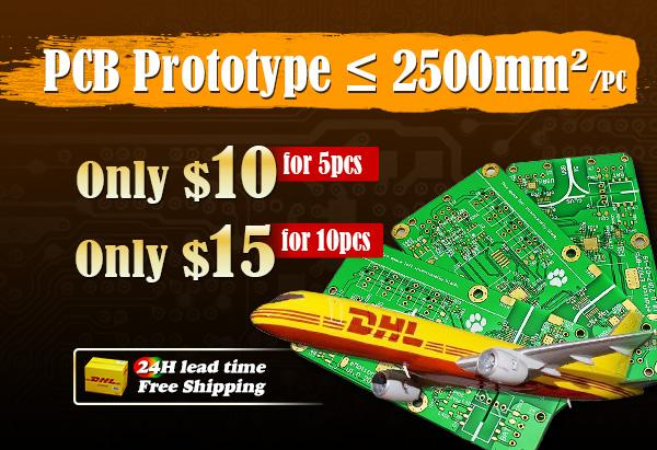 PCB Specials, $10 PCB Boards, Free Shipping
