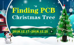 PCB Christmas tree, coupon, ALLPCB